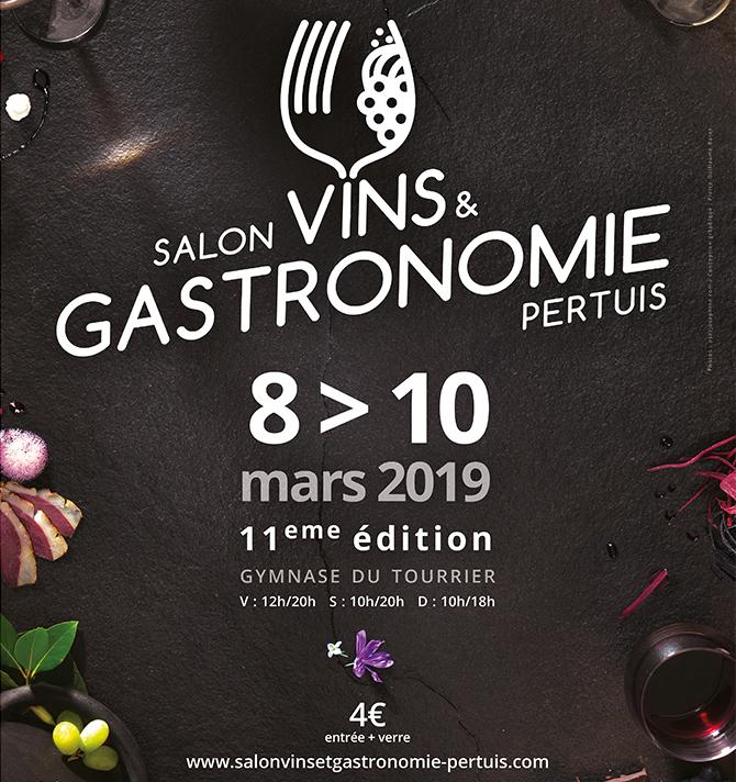Salon Vin et Gastronomie de Pertuis 2019