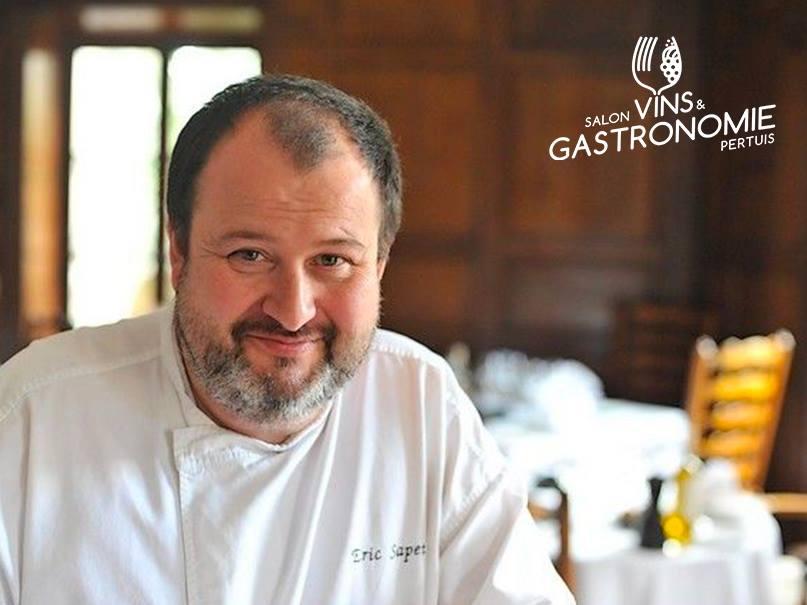 Eric Sapet - salon vins et gastronomie de pertuis